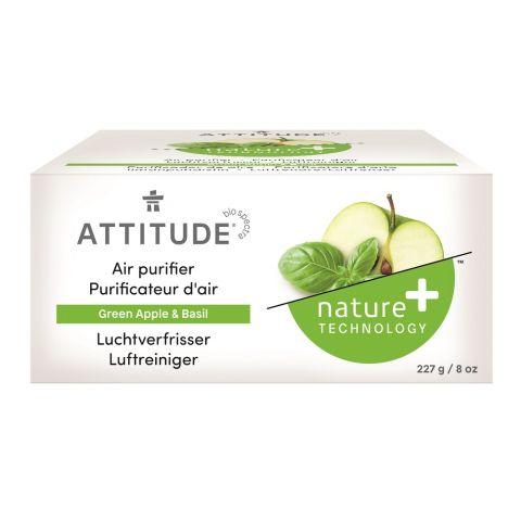 Přírodní čistící osvěžovač vzduchu s vůní zeleného jablka a bazalky Attitude 227 g