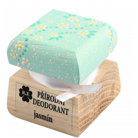 Přírodní krémový deodorant barevný Jasmín RaE 15ml