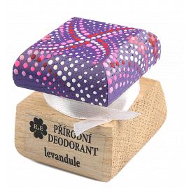 Přírodní krémový deodorant barevný Levandule RaE 15ml