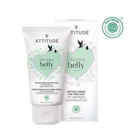 Přírodní krém na unavené nohy nejen pro těhotné s mátou Attitude Blooming Belly 150ml