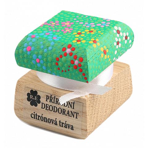 Přírodní krémový deodorant barevný Citrónová tráva RaE 15ml