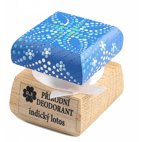 Přírodní krémový deodorant barevný Indický lotos RaE 15ml