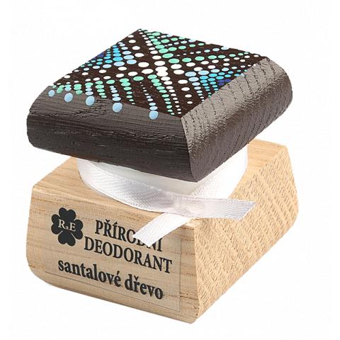 Přírodní krémový deodorant barevný Santalové dřevo RaE 15ml