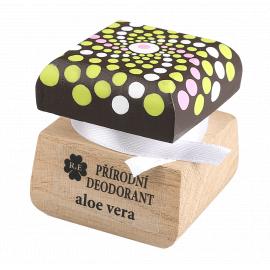 Přírodní krémový deodorant mandala Aloe vera RaE 15ml