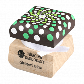 Přírodní krémový deodorant mandala Citrónová tráva RaE 15ml