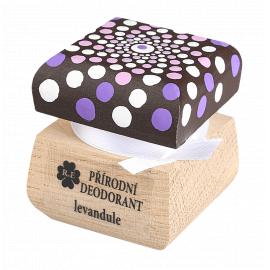 Přírodní krémový deodorant mandala Levandule 15ml