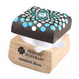 Přírodní krémový deodorant mandala Santalové dřevo 15ml