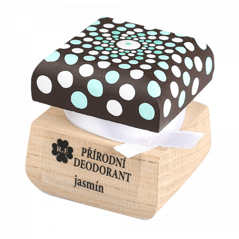 Přírodní krémový deodorant mandala Jasmín RaE 15ml