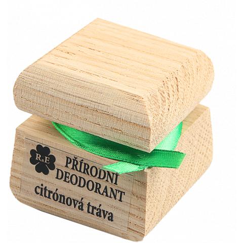 Přírodní krémový deodorant Citrónová tráva RaE 15ml