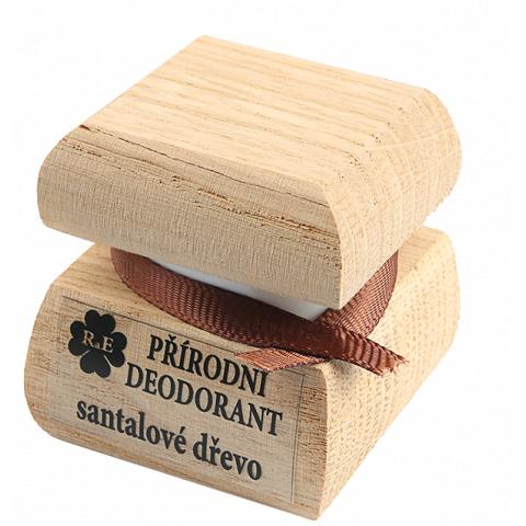 Přírodní krémový deodorant Santalové dřevo RaE 15ml