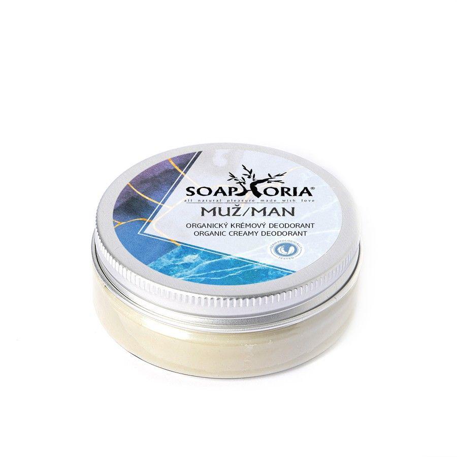 Přírodní krémový deodorant Soapgasm Muž Soaphoria 50ml