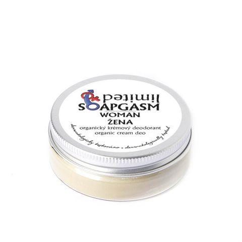 Přírodní krémový deodorant Soapgasm Žena Soaphoria 50 ml
