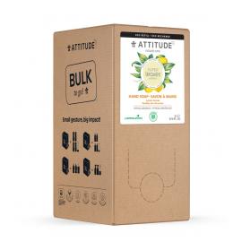 Přírodní mýdlo na ruce s detoxikačním účinkem Citrusové listy náhradní kanystr Attitude Super leaves 2l