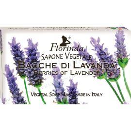 Rostlinné mýdlo Semínka levandule Jarní květiny Florinda 100 g