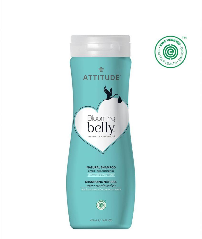 Přírodní šampón nejen pro těhotné s arganem Attitude Blooming Belly 473ml