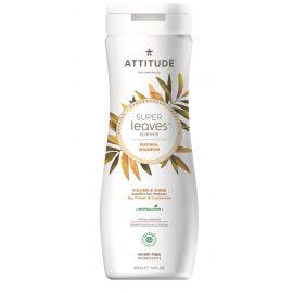 Přírodní šampón s detoxikačním účinkem - lesk a objem pro jemné vlasy Attitude Super leaves 473ml