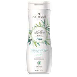 Přírodní šampón s detoxikačním účinkem - vyživující pro suché a poškozené vlasy Attitude Super leaves 473ml