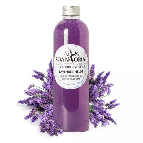 Přírodní sprchový gel Levandulové pole Soaphoria 250 ml