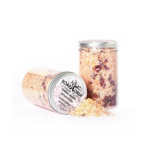 Přírodní sůl do koupele Věčná krása Soaphoria 500g