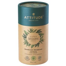 Přírodní tuhý deodorant Super leaves Bez vůně Attitude 85g