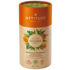 Přírodní tuhý deodorant Super leaves Pomerančové listy Attitude 85g