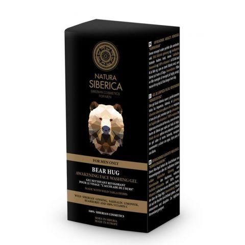 Probouzející oplachovací gel na obličej – Medvědí uchopení Natura Siberica 150ml