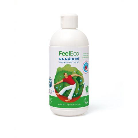 Prostředek na nádobí,ovoce a zeleninu Feel Eco 500 ml