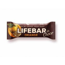 Tyčinka Bio InChoco Pomeranč Lifebar 40g