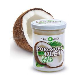 Kokosový olej BIO bez vůně PURITY VISION 400ml