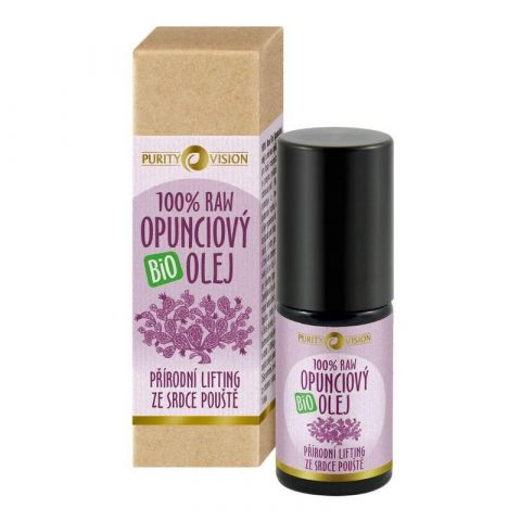 Raw Opunciový olej Bio Roll-On Purity Vision 5 ml