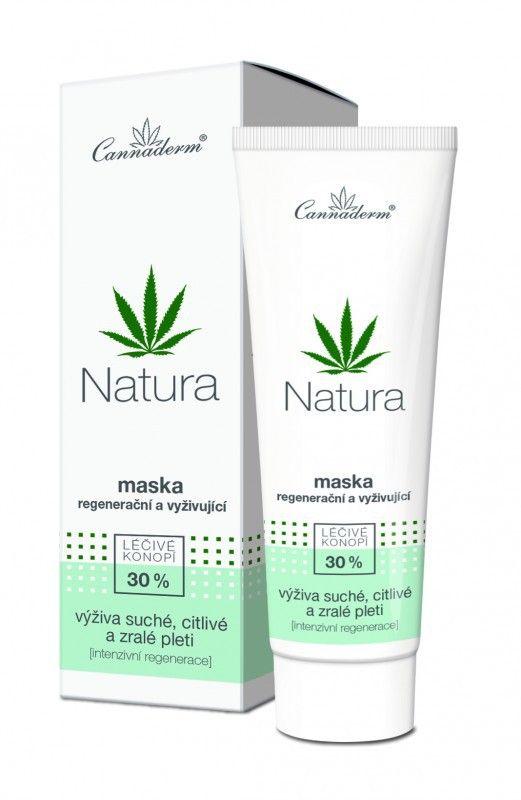 Cannaderm NATURA regenerační maska 75 g