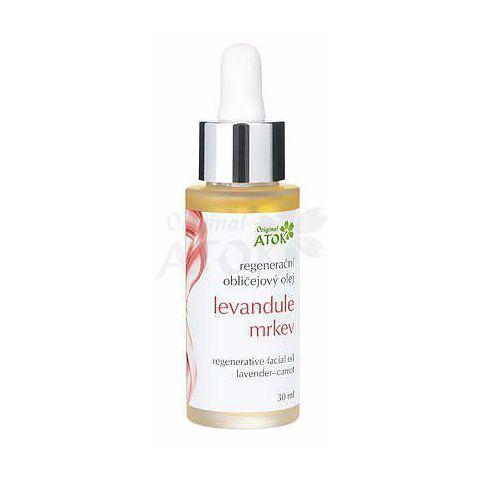 Regenerační obličejový olej Levandule-mrkev Atok 30 ml