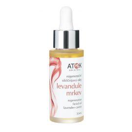 Regenerační obličejový olej Levandule-mrkev Atok