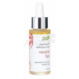Regenerační obličejový olej Neutral BPJ Atok 30 ml