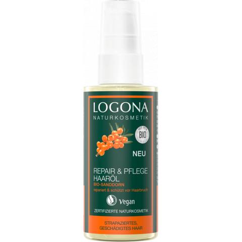 Regenerační & Pěstící olej na vlasy Rakytník Logona 75ml