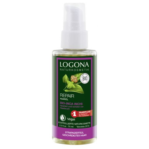 Regenerační vlasový olej Inca Inchi Logona 75ml