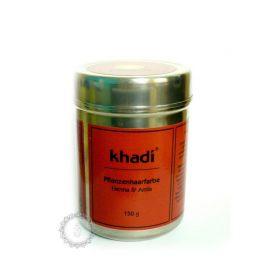 Rostlinná barva na vlasy HENNA & AMLA  Khadi 150g