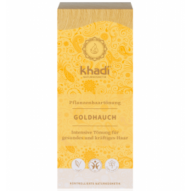Rostlinná barva na vlasy Zlatý přeliv Khadi  100g