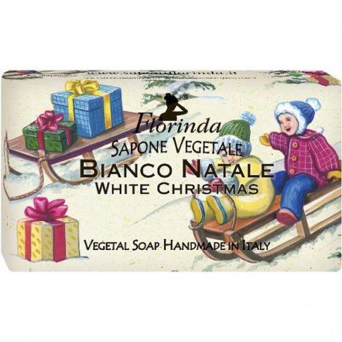 Rostlinné mýdlo Bílé Vánoce Florinda 50 g
