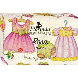 Rostlinné mýdlo Růže mazlivá vůně Florinda 200 g