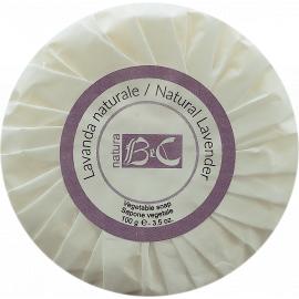 Rostlinné mýdlo s přírodní levandulí BeC Natura 100 g