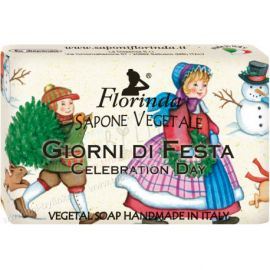 Rostlinné mýdlo Sváteční den  Florinda 50 g