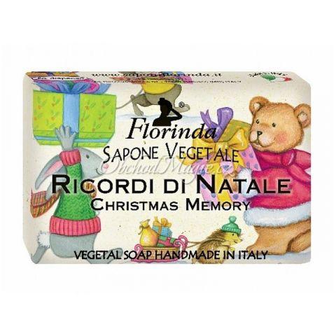Rostlinné mýdlo Vánoční vzpomínky Florinda 50 g