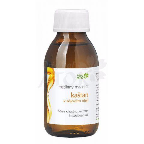 Rostlinný macerát kaštan v sójovém oleji Atok 100 ml