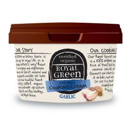 Kokosový olej s česnekem Royal Green BIO 250 ml