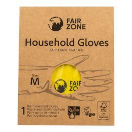 Rukavice pro domácnost z přírodního latexu vel. M  Fair Squared