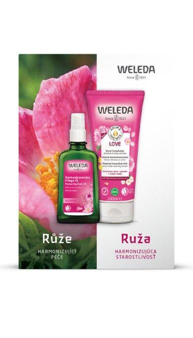Růžová harmonizující péče Weleda