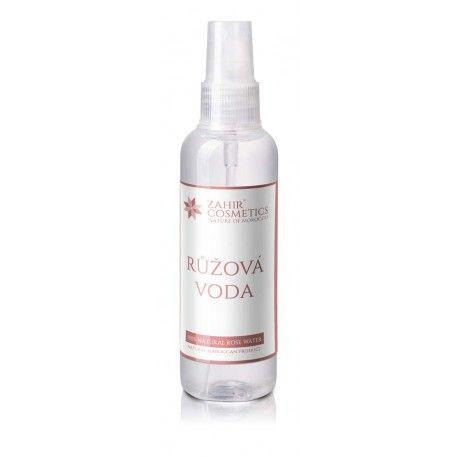 Zahir Cosmetics Růžová voda s rozprašovačem 100 ml