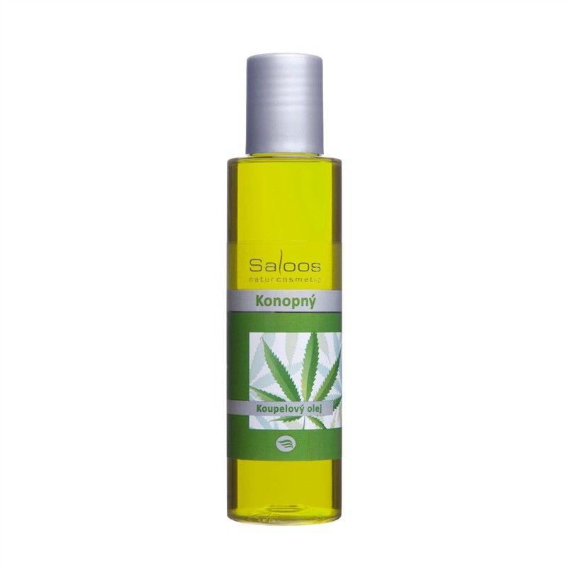 Saloos Koupelový olej Konopný 125ml