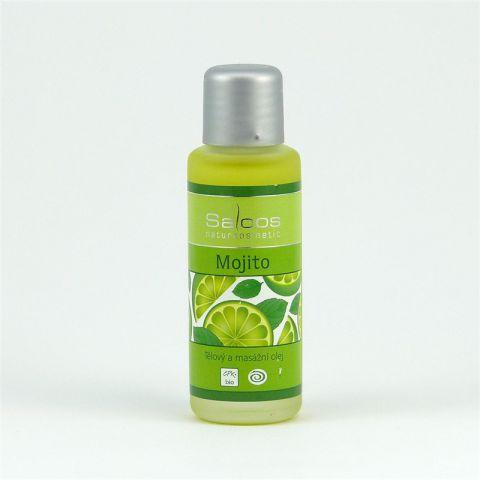 Masážní olej Mojito Saloos  50 ml